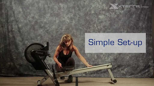 Xterra ERG 400 Rower - image 4 from the video