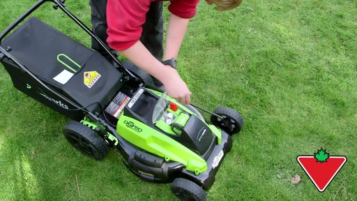 Gareth & Doug's Review of the Greenworks 40V Lawnmower  - image 1 from the video