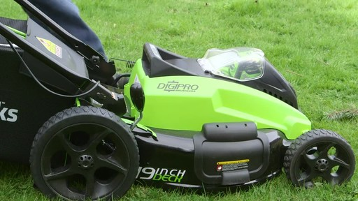 Gareth & Doug's Review of the Greenworks 40V Lawnmower  - image 3 from the video