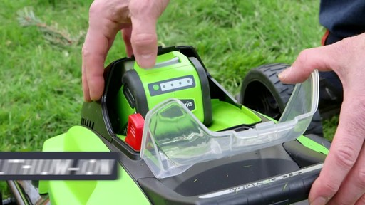 Gareth & Doug's Review of the Greenworks 40V Lawnmower  - image 8 from the video