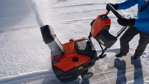 Husqvarna Single Stage Snowblower - image 2 from the video