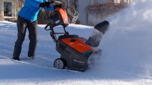 Husqvarna Single Stage Snowblower - image 4 from the video