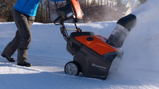 Husqvarna Single Stage Snowblower - image 5 from the video