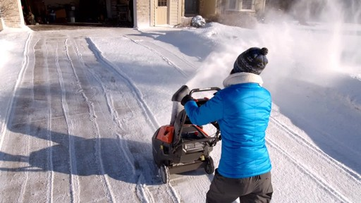 Husqvarna Single Stage Snowblower - image 6 from the video
