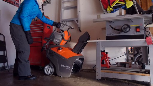 Husqvarna Single Stage Snowblower - image 7 from the video