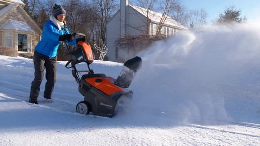 Husqvarna Single Stage Snowblower - image 8 from the video