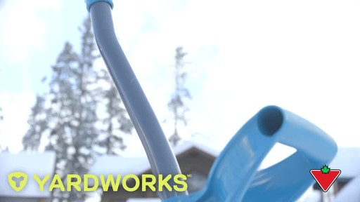 Yardworks Ergonomic Combo Snow Shovel, 19-in - image 1 from the video