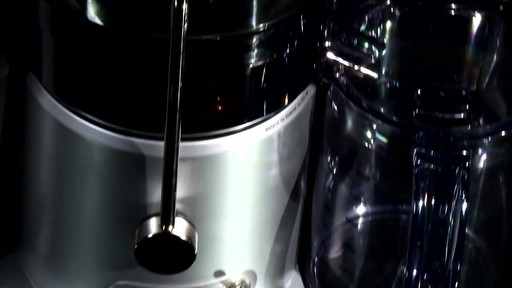 Breville Juice Fountain Plus - image 3 from the video