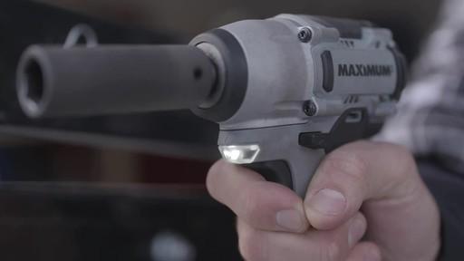 MAXIMUM 20V Cordless Impact Wrench - Brandon's Testimonial - image 5 from the video