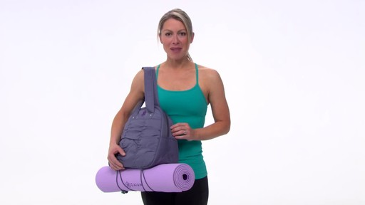 Gaiam Metro Yoga Bag - image 10 from the video