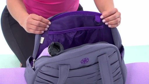 Gaiam Metro Yoga Bag - image 2 from the video