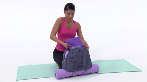 Gaiam Metro Yoga Bag - image 3 from the video