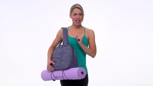 Gaiam Metro Yoga Bag - image 7 from the video