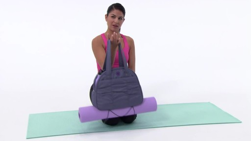 Gaiam Metro Yoga Bag - image 8 from the video