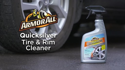 Armor All Quicksilver Tire and Rim Cleaner - image 10 from the video
