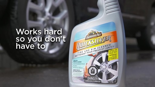 Armor All Quicksilver Tire and Rim Cleaner - image 9 from the video
