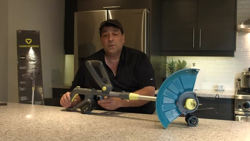 Yardworks 24V Li-Ion Demand Feed Cordless Trimmer, 13-in- Ugo's Testimonial - image 10 from the video