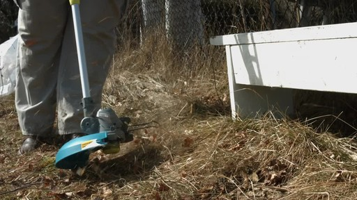 Yardworks 24V Li-Ion Demand Feed Cordless Trimmer, 13-in- Ugo's Testimonial - image 2 from the video