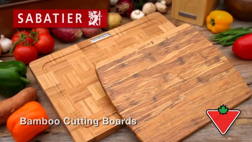 Sabatier Bamboo Cutting Board - image 1 from the video