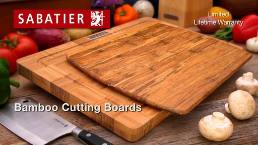 Sabatier Bamboo Cutting Board - image 10 from the video
