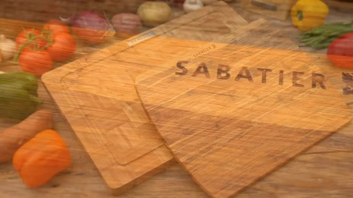 Sabatier Bamboo Cutting Board - image 2 from the video