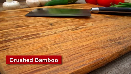Sabatier Bamboo Cutting Board - image 6 from the video