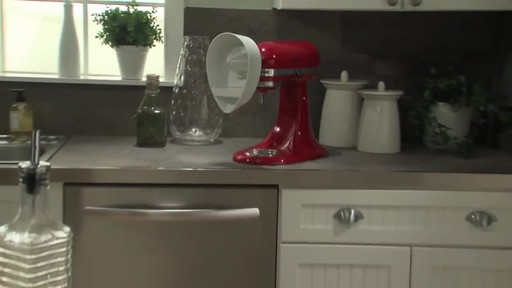 KitchenAid Citrus Juicer Attachment - image 10 from the video
