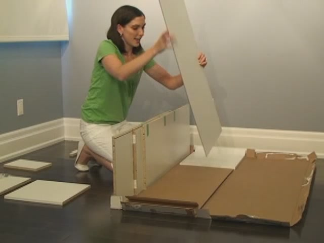 EZ Up Closet Storage Unit - image 3 from the video