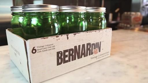 Bernardin Vintage Jars, 1-L, Green - image 9 from the video