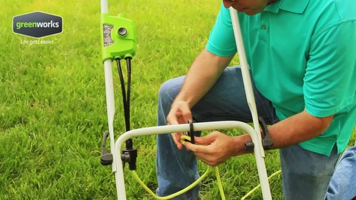 Greenworks 10 A 16-in Electric Lawn Mower - image 1 from the video