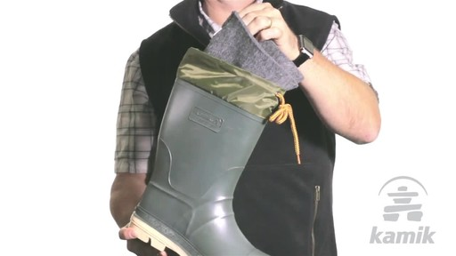 Kamik Hunter Boot - image 4 from the video
