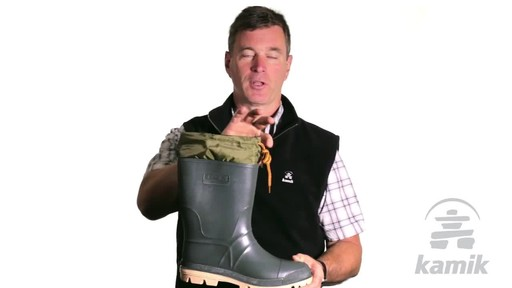 Kamik Hunter Boot - image 6 from the video