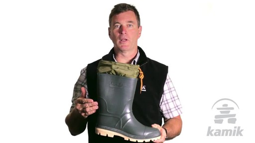 Kamik Hunter Boot - image 7 from the video