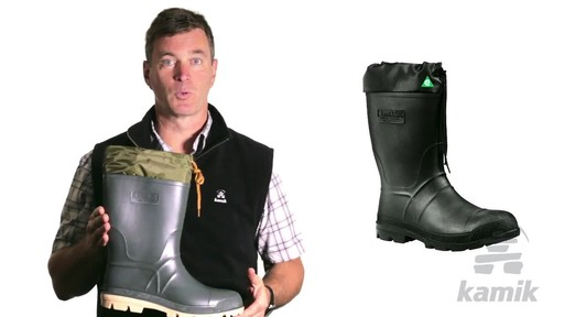 Kamik Hunter Boot - image 9 from the video