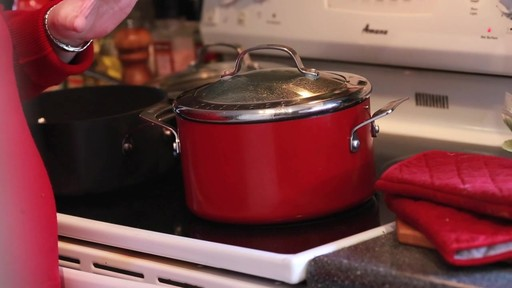 Circulon Red Straining Stock Pot- Adriana's Testimonial - image 1 from the video