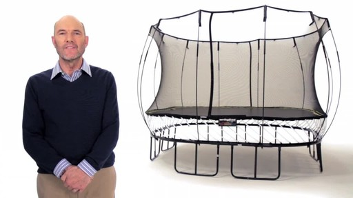 Springfree Trampoline 11 x 11-ft Large Square with Safety Enclosure - image 1 from the video