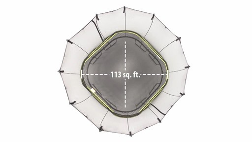 Springfree Trampoline 11 x 11-ft Large Square with Safety Enclosure - image 2 from the video