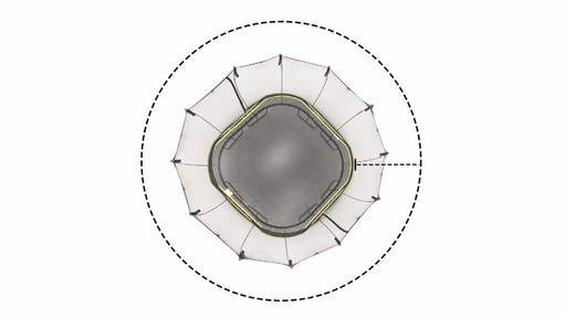 Springfree Trampoline 11 x 11-ft Large Square with Safety Enclosure - image 4 from the video