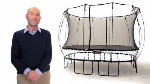 Springfree Trampoline 11 x 11-ft Large Square with Safety Enclosure - image 9 from the video
