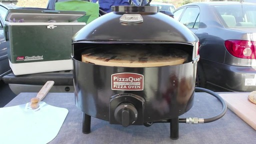 Pizzacraft PizzaQue Propane Pizza Oven- Overview - image 1 from the video