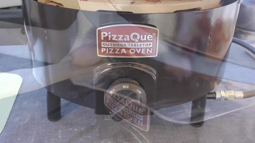 Pizzacraft PizzaQue Propane Pizza Oven- Overview - image 3 from the video