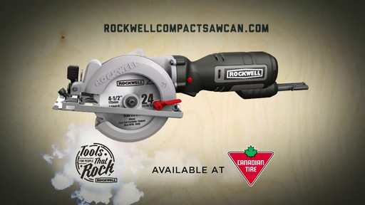 Rockwell Compact Circular Saw, 4-1/2-in » English ...