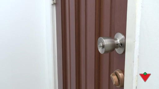 How to Replace Door Locks and Hardware - image 10 from the video