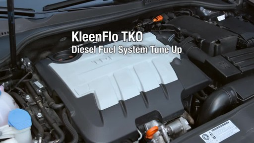 Kleen-Flo TKO Diesel Fuel System Cleaner - image 5 from the video