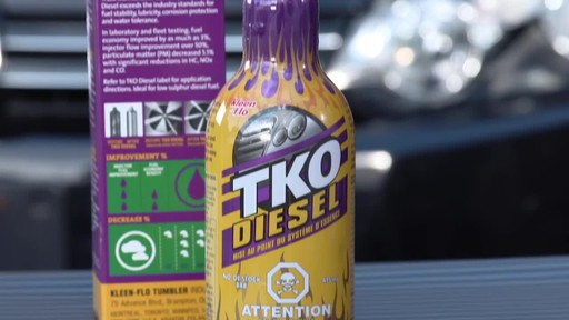 Kleen-Flo TKO Diesel Fuel System Cleaner - image 7 from the video