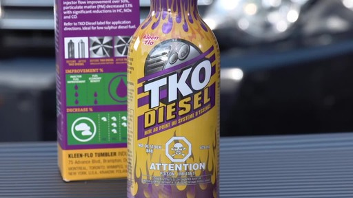 Kleen-Flo TKO Diesel Fuel System Cleaner - image 8 from the video