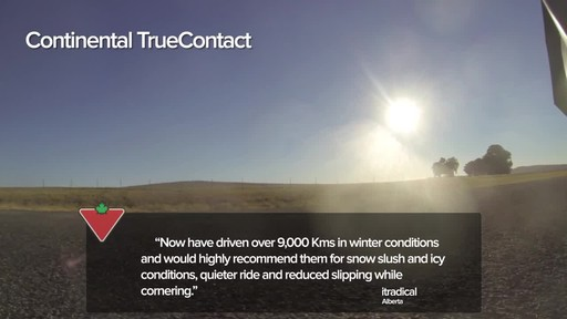 Continental TrueContact™ Tire - Customers' Testimonials - image 3 from the video
