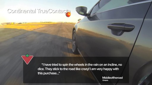 Continental TrueContact™ Tire - Customers' Testimonials - image 6 from the video
