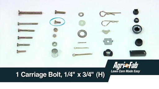 What's Inside the Box - Agri Fab Tow Broadcast Spreader - image 6 from the video