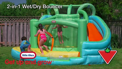 Little Tikes 2-in-1 Wet Dry Bouncer - image 1 from the video